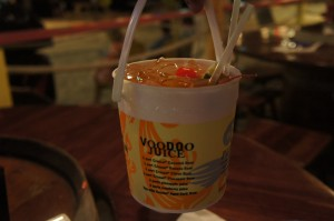 A bucket of Voodoo Juice will get your party started