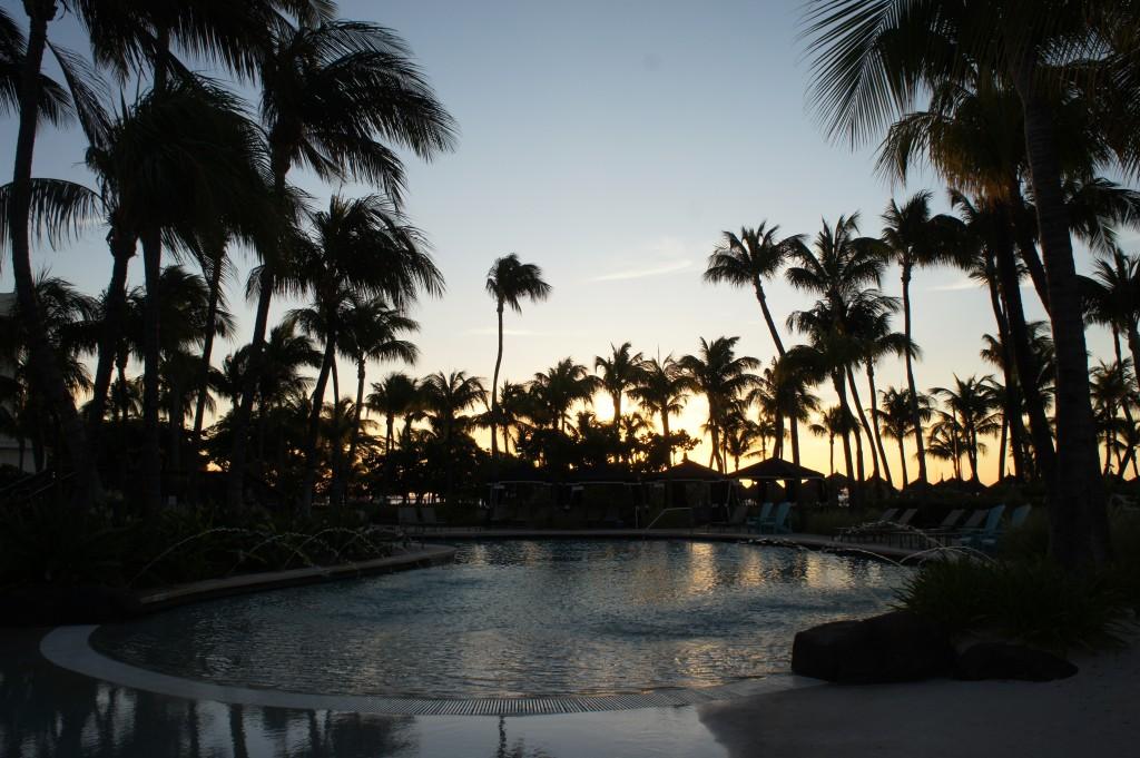 Sunset at Radisson Aruba