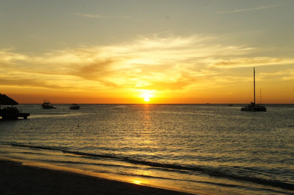 Sunset from Radisson Aruba