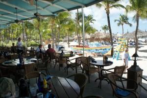 Terrace of Gilligan's Beachbar