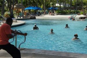 Daily activties at Radisson Aruba