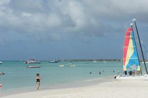 Radisson Aruba's stretch of Palm Beach