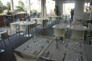 Seating area at White Modern Aruba