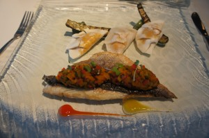 Dorade Royale Entree from White Modern Aruba