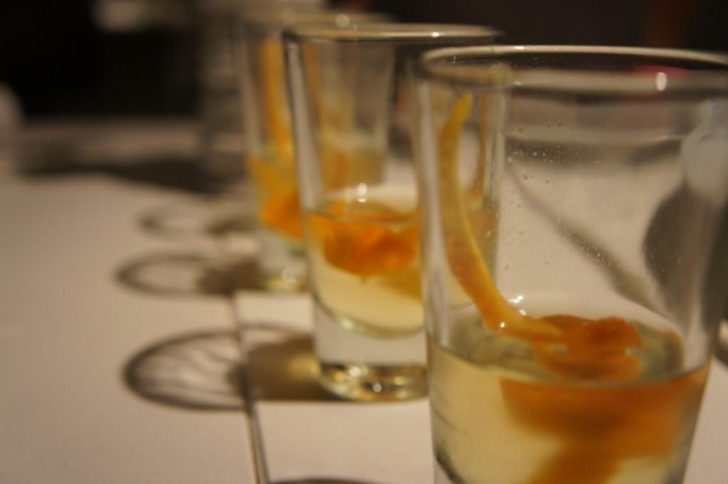 Homemade Orangecello from White Modern Aruba