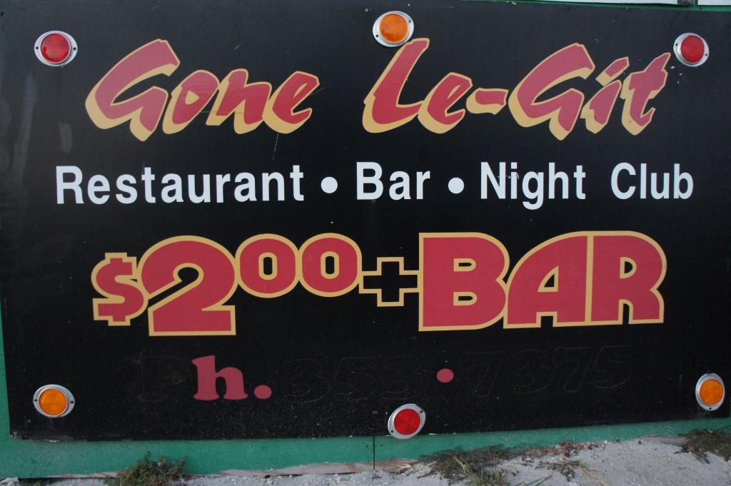 $2.00 Bar
