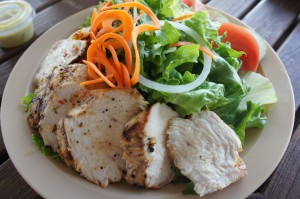 Grilled Chicken Salad from British Colonial Hilton Nassau