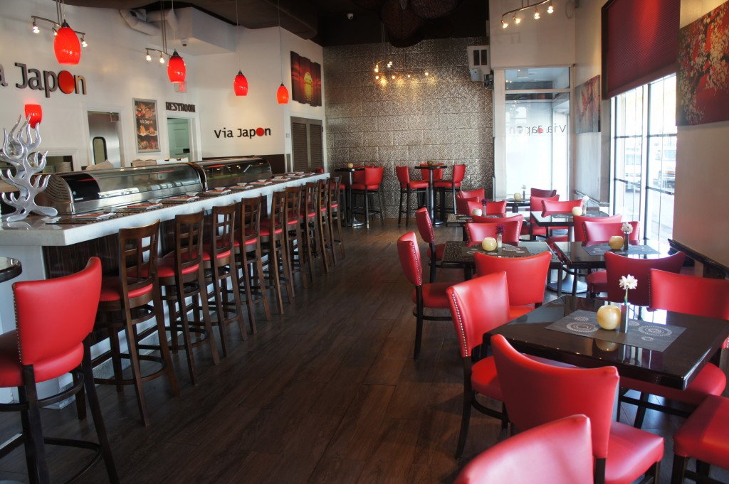 Via Restaurant interior
