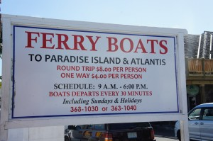Ferry Boats to Paradise Island & Atlantis