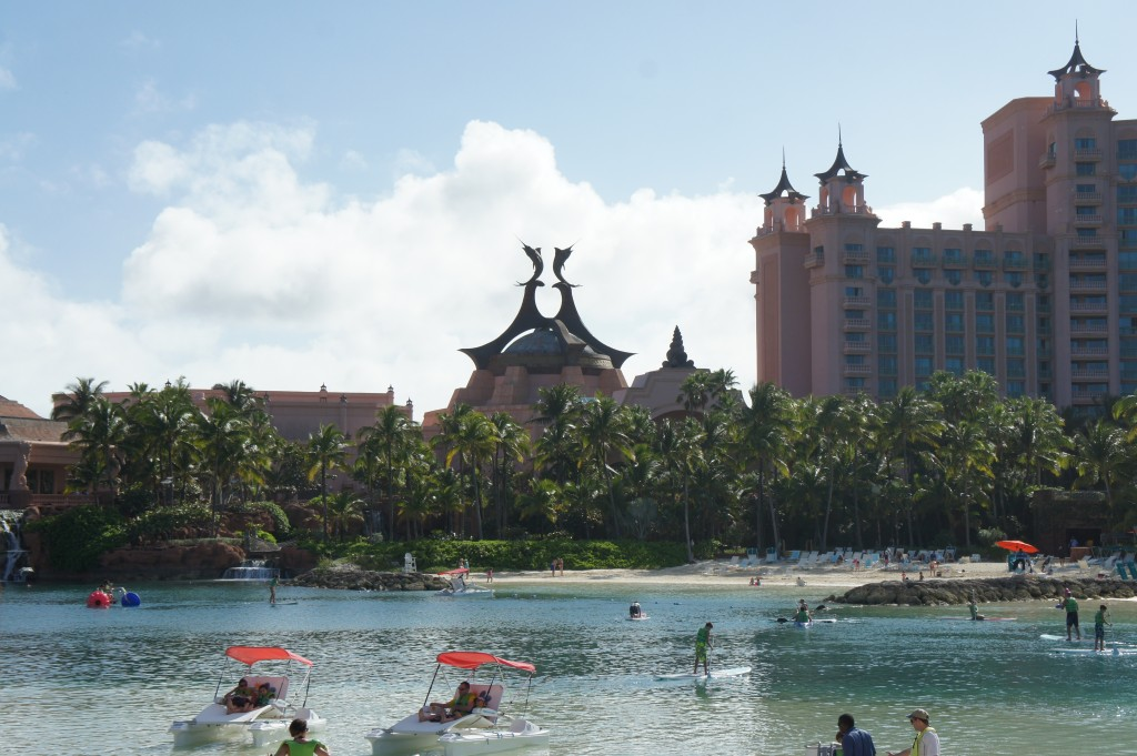 The family beach at Atlantis