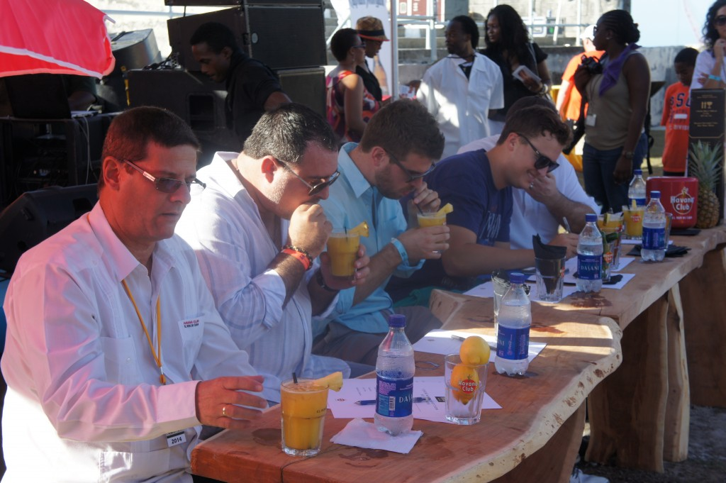 Mixoloy competition at Festival Rum Bahamas 2014