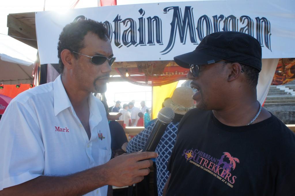 Mango Eddie being interviewed for Rum Radio!