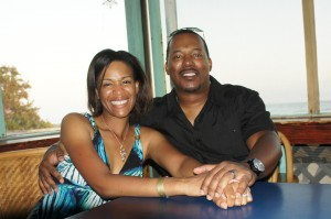 All smiles at the $2 Bar in Grand Bahama