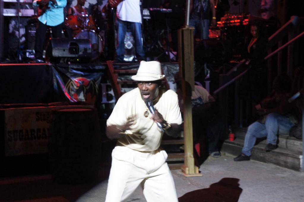 Lively performer at Festival Rum Bahamas 2014