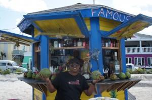 Junkanoo Beach in Nassau Bahamas