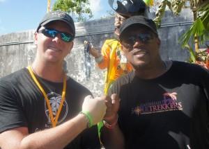Rumshop Ryan and Mango Eddie at Festival Rum Bahamas 2014
