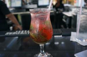 Passionfruit Mojito Aruba Sandbar