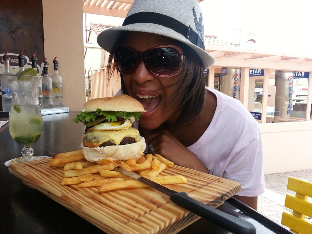 Dushi Bagels and Burgers & Burgers, Aruba review