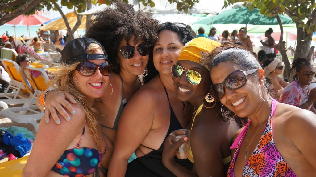 Ladies at Soul Beach Music Fest 2014