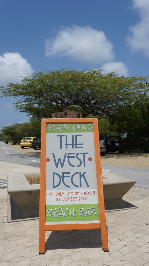 Review of the West Deck Aruba