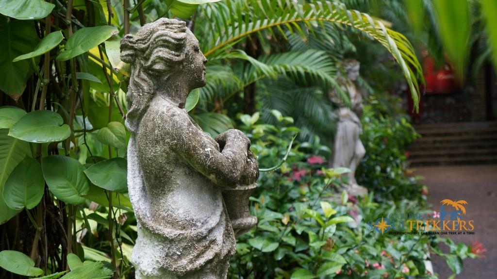 Statue Garden in Charlotte Amalie