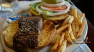 Jerked Mahi Sandwich Glady's Cafe St. Thomas