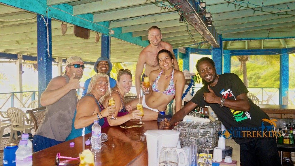 Fly Bye Crew at Foxy's Taboo Anegada BVI