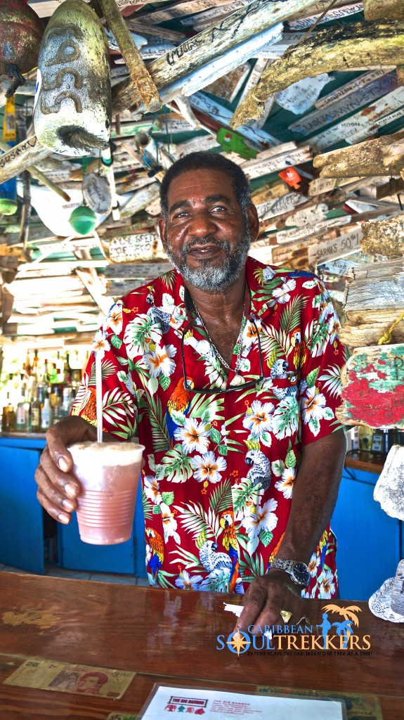 Big Bamboo Beach Bar owner, Aubrey