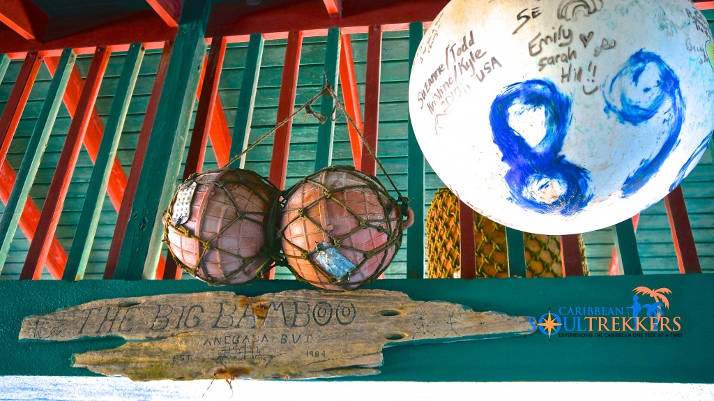 The Big Bamboo Beach Bar and Restaurant Anegada BVI