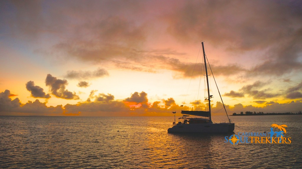 Sunset Catamaran Sailing BVI