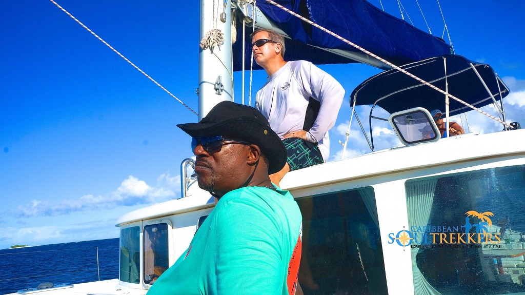 Mango Eddie Sailing the BVI