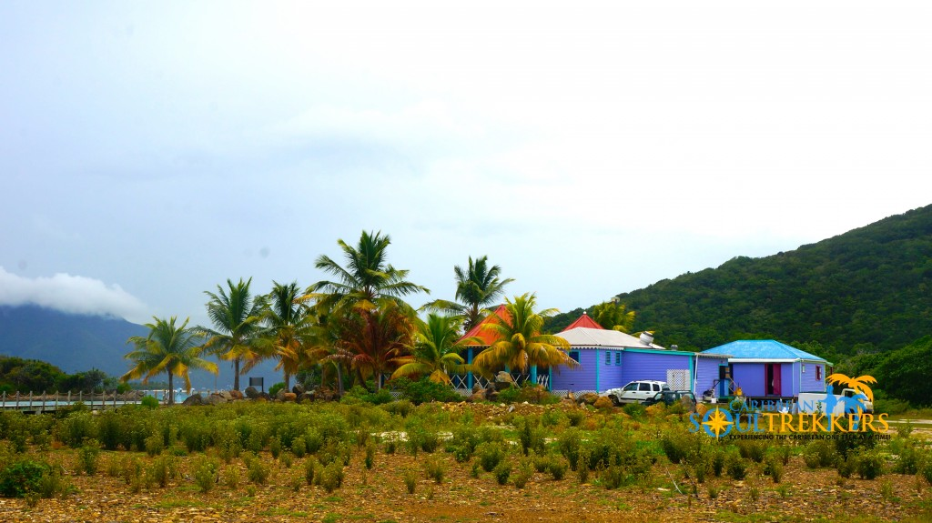 Scenic View of Foxy's Taboo in Jost Van Dyke