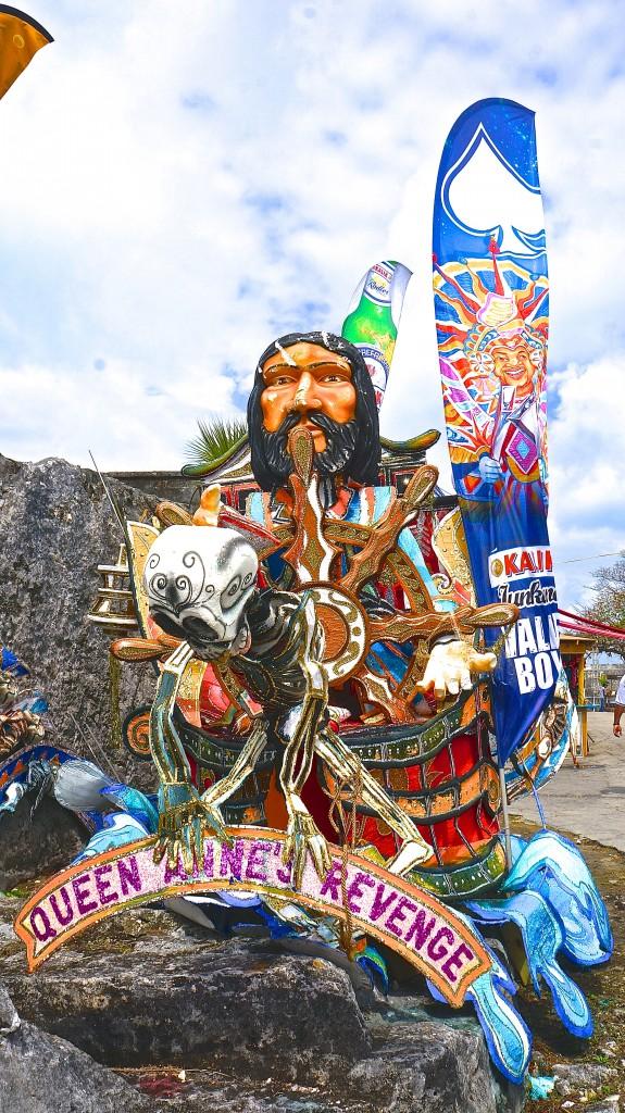 Carnival Float at Festival Rum Bahamas 2015