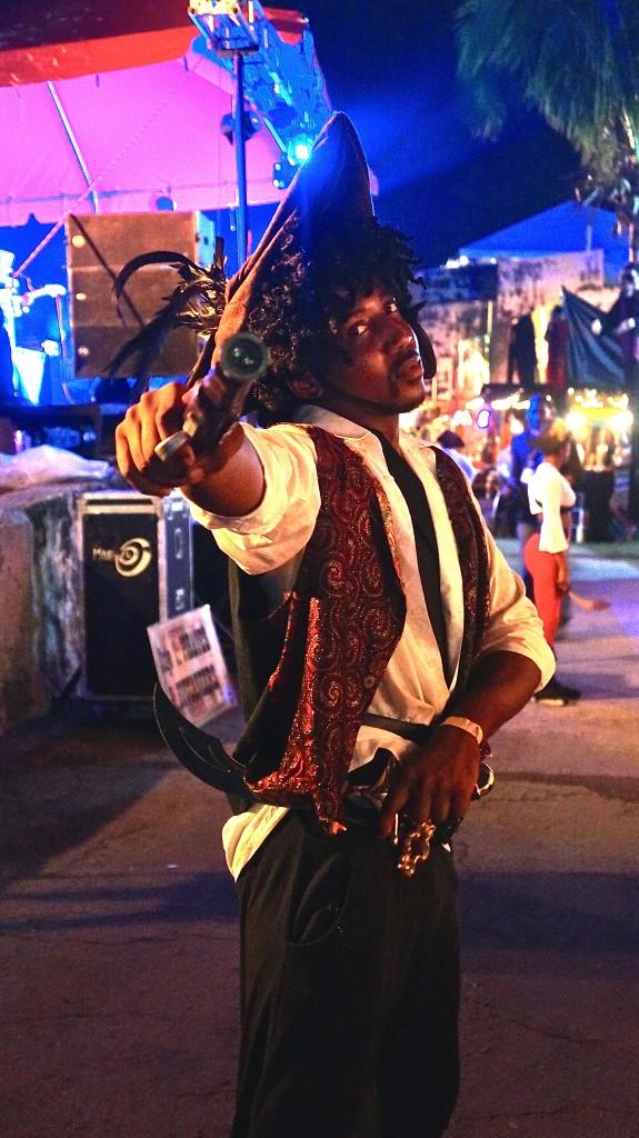 Festival Rum Bahamas pirate