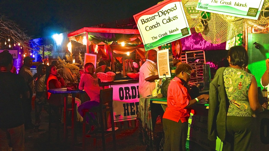 Food vendors at Festival Rum Bahamas