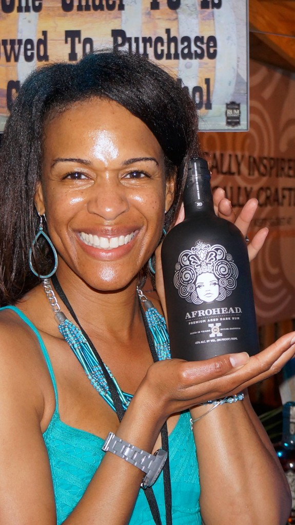 Close up with festival favorite Afrohead Rum