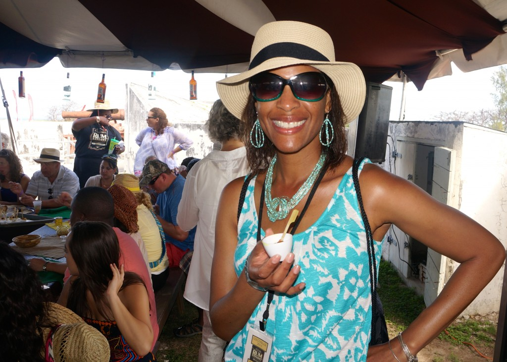 Sampling rum-inspired cuisine at Festival Rum Bahamas 2015