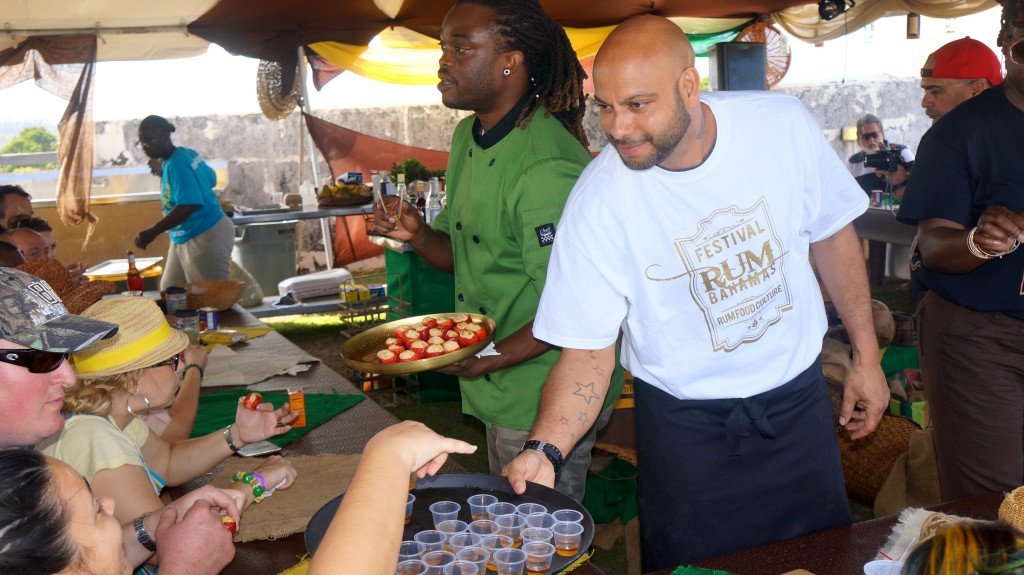 Rhum Chef Paul Yellin at Festival Rum Bahamas 2015