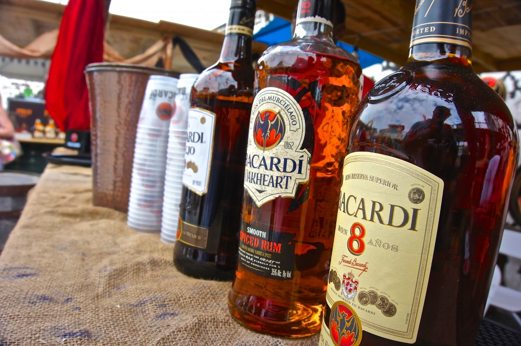 Bacardi rums at Festival Rum Bahamas 2015