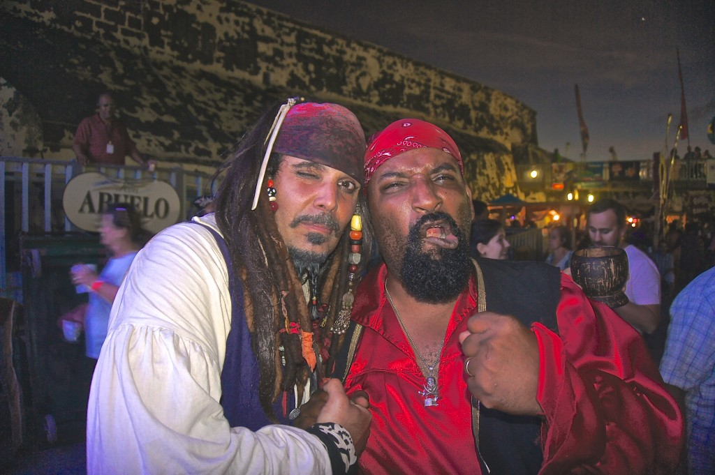 Our favorite pirates from Festival Rum Bahamas 2015