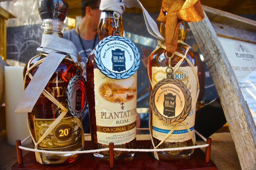 Award winning rums at Festival Rum Bahamas 2015