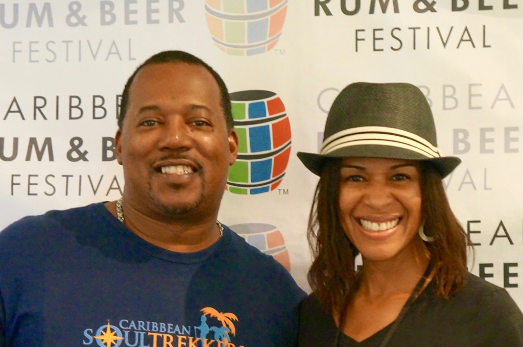 Mango Eddie and Passionfruit Sista at Caribbean Rum & Beer Festival 2015