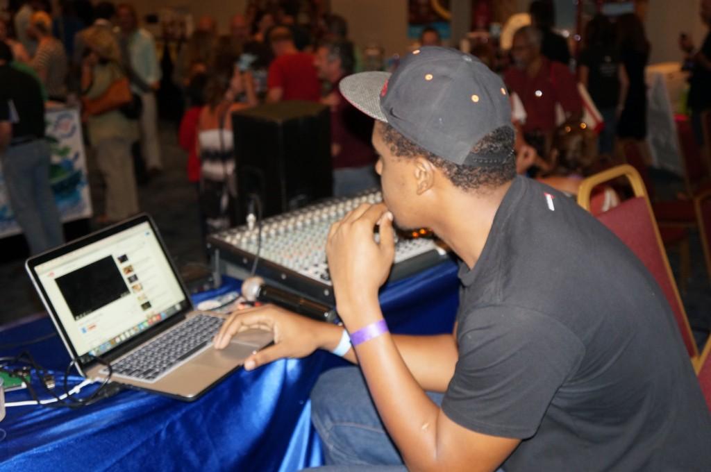 DJ at Caribbean Rum & Beer Festival 2015