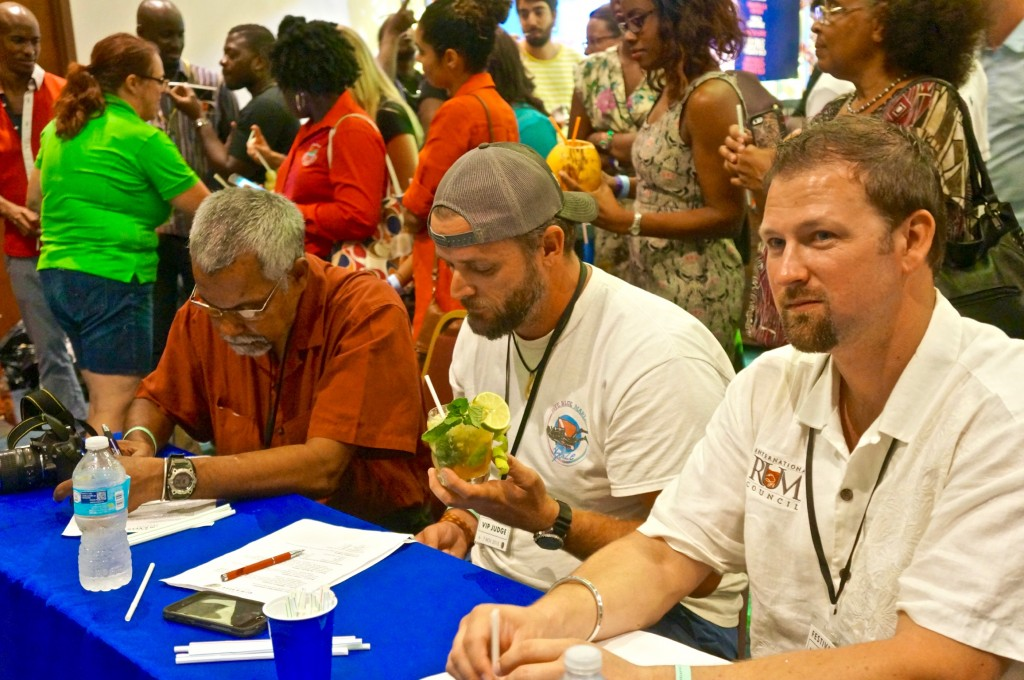 Judging the Caribbean Alcohol Beverage Taste Contest