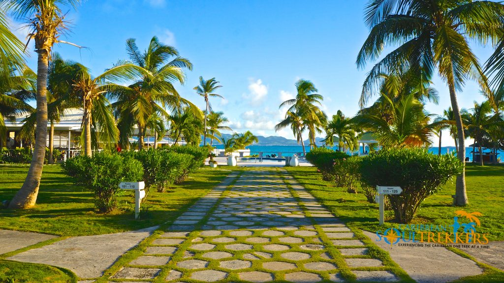 The path to paradise begins at Anguilla Great House Beach Resort.